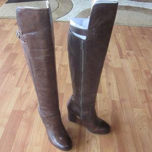 Frye Parker OTK Boots Size 7.5m